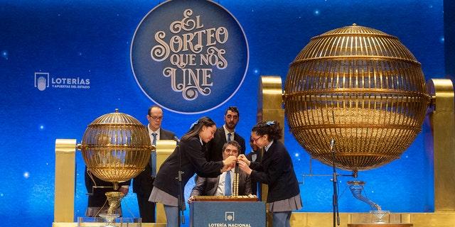 Winners of world's richest lottery 'El Gordo' celebrate
