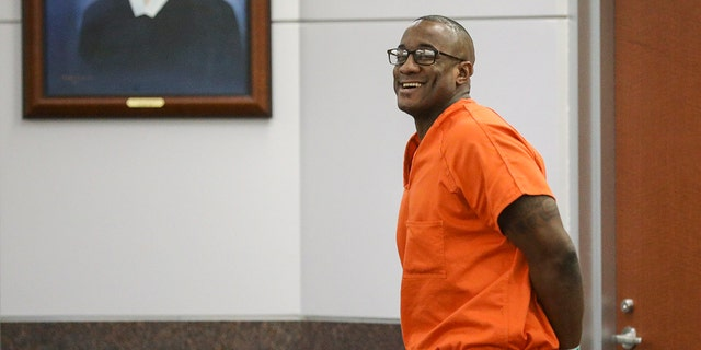US News FILE - In this Tuesday, Nov. 26, 2019 file photo, Lydell Grant smiles in court after he was ordered to be released on bond in Houston. He was cleared Friday by authorities in the death of 28-year-old Aaron Scheerhoorn. New evidence has pointed to 41-year-old Jermarico Carter as the killer. Carter was arrested Thursday in Georgia. (Jon Shapley/Houston Chronicle via AP)