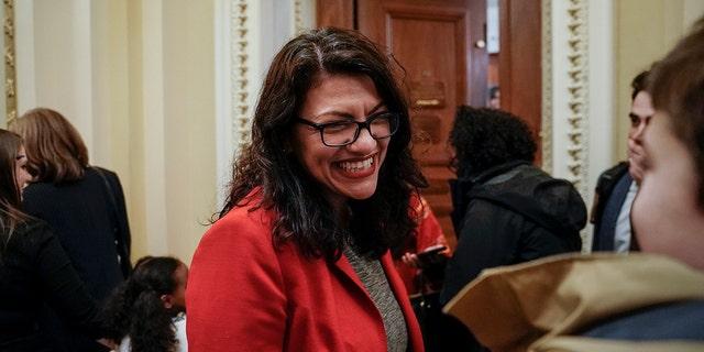 U.S. Rep. Rashida Tlaib, D-Mich.