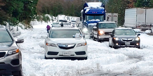 Thanksgiving travel was snarled in some places by two powerful storms.