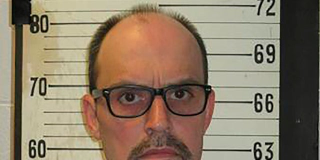 Lee Hall, seen here in 2017, is scheduled to be executed Thursday. (Tennessee Department of Correction via AP)