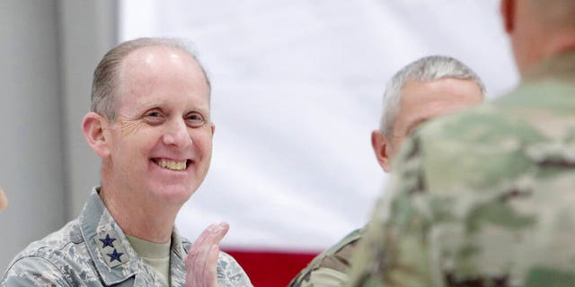 Maj. Gen. Don Dunbar, the commander of the Wisconsin National Guard, agreed to resign Monday.