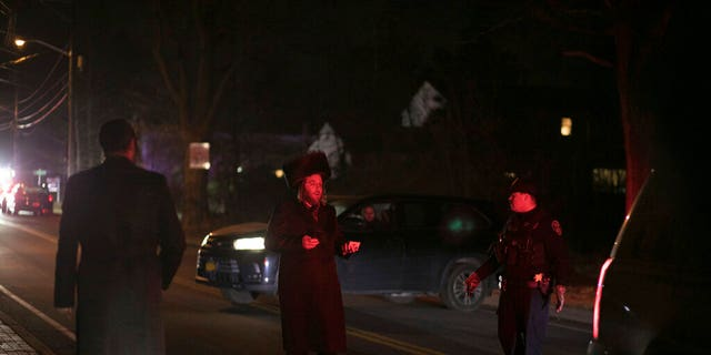 Five Hasidic Jews were stabbed at a rabbi's home in Monsey, N.Y., Saturday night as worshippers celebrated the seventh night of Hannukah.