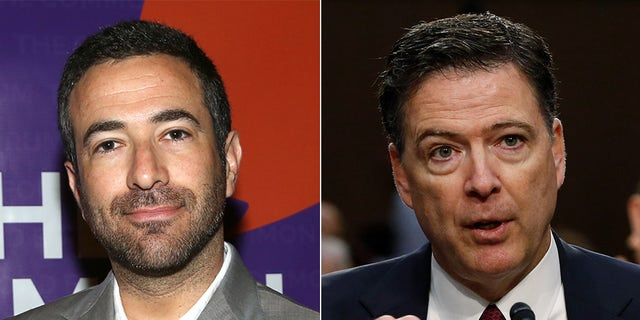 MSNBC host Ari Melber, left, had some tough words for former FBI Director James Comey.