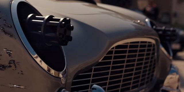 Westlake Legal Group BOND-LIGHTS 'No Time to Die' trailer reveals big change to 007's Aston Martin DB5 Gary Gastelu fox-news/entertainment/movies/james-bond fox-news/entertainment/movies fox-news/auto/make/aston-martin fox-news/auto/attributes/collector-cars fox news fnc/auto fnc de3699e9-993b-52f5-8807-e45710427825 article