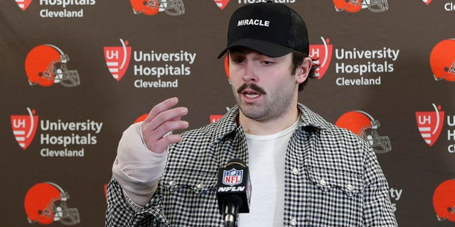 Westlake Legal Group Baker-Mayfield2 Cleveland Browns' Baker Mayfield vows to play despite hand injury: 'Mama didn't raise no wuss' Ryan Gaydos fox-news/sports/nfl/cleveland-browns fox-news/sports/nfl fox-news/person/baker-mayfield fox news fnc/sports fnc f9426512-ca2a-501e-ab6e-27131e3ecf7b article
