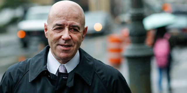 Former New York City Police Commissioner Bernard Kerik arriving at the Manhattan Federal Courthouse in downtown Manhattan, New York, October 16, 2014.