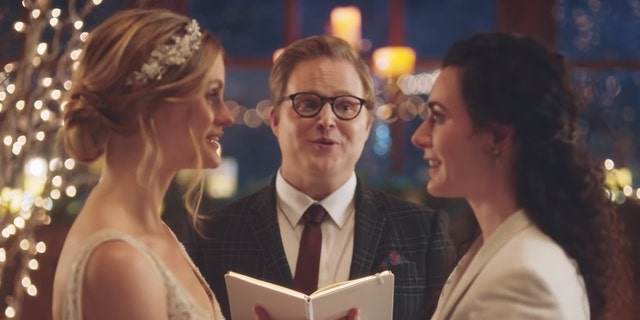 Hallmark says it scrapped lesbian wedding ads to avoid controversy