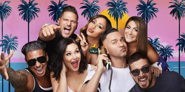 The cast of 'Jersey Shore: Family Vacation' -- Top L to R: Ronny, Snooki, Deena: Bottom L - R: Vinny, Jenni, Mike, Vinny