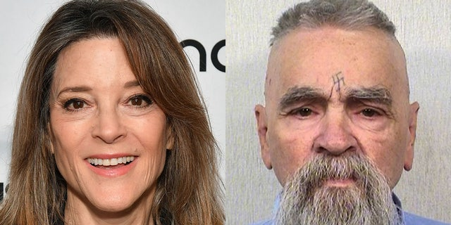 "Marianne Williamson appeared to have fallen for a satirical news story Sunday night, tweeting there was ""something deeply sinister"" about President Trump pardoning murderer Charles Manson."