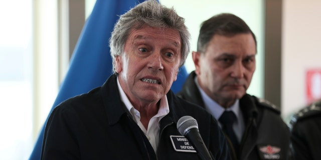 Chile's Defense Minister Alberto Espina said human remains have been found from a military aircraft that disappeared on a flight to Antarctica.