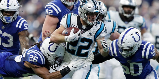 Christian McCaffrey is one of the best players in the NFL. (AP Photo/Michael Conroy)