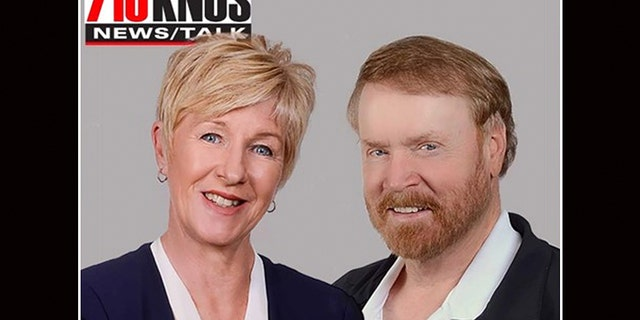 Chuck Bonniwell cohosted the Chuck & Julie show on 710 KNUS with Julie Hayden before it was canceled following a school shooting remark he made on the air.