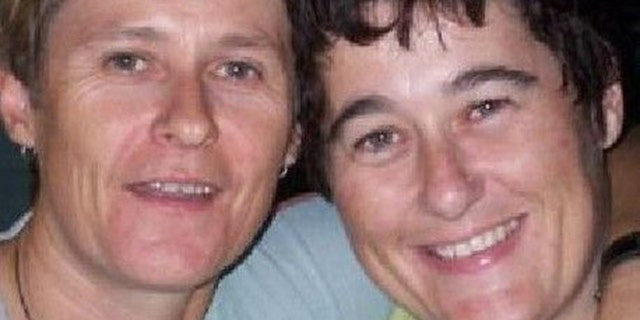 A body believed to be that of Claire Hockridge, seen right, was discovered Wednesday.