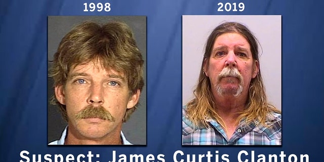 James CurtisClanton was arrested in Florida and extradited to Colorado.(Douglas County Sheriff's Office)