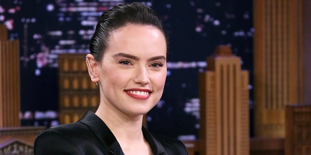 """Daisy Ridley, seen in a photo last month, claimed """"every sane person"""" had an issue with President Trump. (Andrew Lipovsky/NBC/NBCU Photo Bank via Getty Images, File)"""