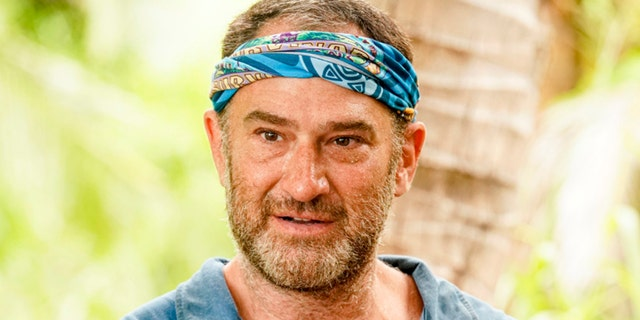 Dan Spilo pictured on the eighth and ninth episodes of 'Survivor: Island of Idols' which aired on Wednesday, Nov. 13.