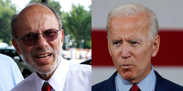Dr. David Scheiner and former Vice President Joe Biden. (Getty/AP).