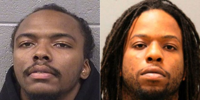 Dwright Boone-Doty, left, and Corey Morgan were sentenced to decades in prison Wednesday for killing Tyshawn Lee, a 9-year-old boy, in Chicago in 2015.