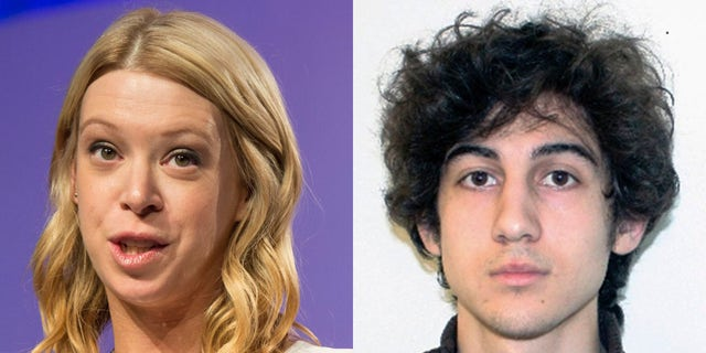 Bombing survivor Adrianne Haslet lashed out Friday after a court overturned the death sentence of convicted killer Dzhokhar Tsarnaev.