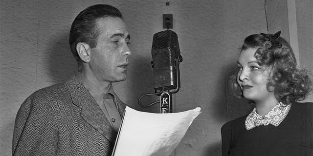 Humphrey Bogart and Mayo Methot, circa 1940.