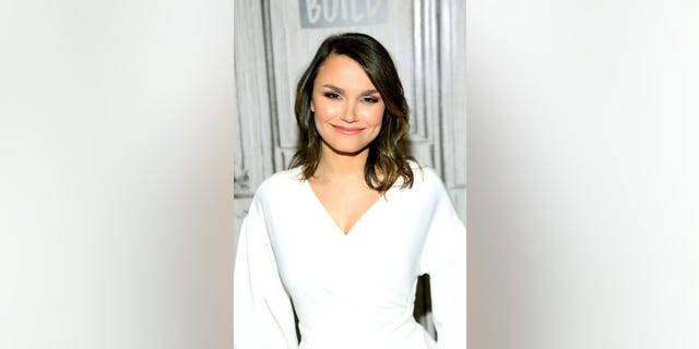 Samantha Barks attends Build Series to discuss her role in 'Pretty Woman: The Musical' at Build Studio on April 05, 2019 in New York City.