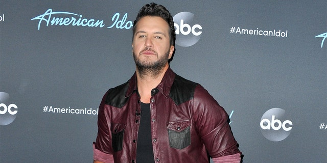 Luke Bryan arrives at ABC's 'American Idol' live show on May 05, 2019 in Los Angeles, Calif.