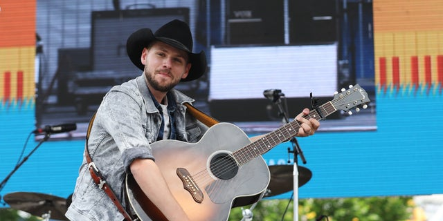 Brett Kissel performs at the Chevy Breakout Stage on Day 3 of the CMA Music Festival on June 8, 2019, in Nashville, Tenn. (Photo by Leah Puttkammer/Getty Images)