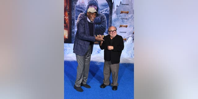 Danny Glover and Danny DeVito star as grandparents in