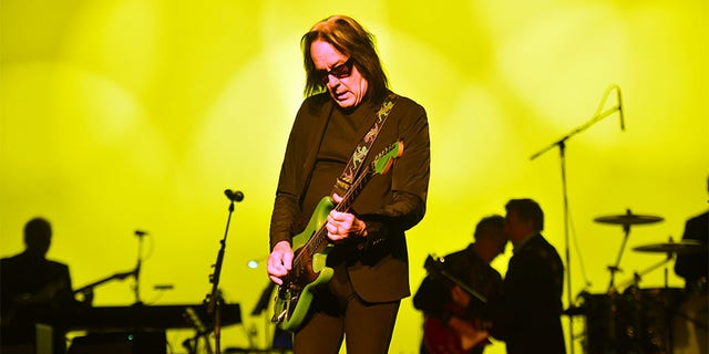 Singer Todd Rundgren performs onstage during the 50th-anniversary tribute tour celebrating The White Album at The Wiltern on December 11, 2019, in Los Angeles, California.