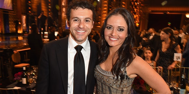 Fred Savage (L) and Danica McKellar attend the 2015 TV Land Awards at Saban Theatre on April 11, 2015, in Beverly Hills, California.