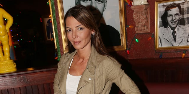 """Drita D'Avanzo promotes the VH1 Series Finale of """"Mob Wives"""" at Buca di Beppo Times Square on March 10, 2016 in New York City."""