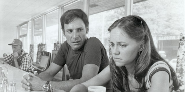 """Sally Field and Ron Leibman in the 1979 movie """"Norma Rae""""."""