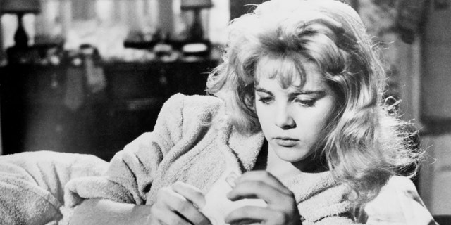 "Sue Lyon as Dolores 'Lolita' Haze in a scene from the 1962 film ""Lolita."" (Silver Screen Collection/Getty Images, File)"