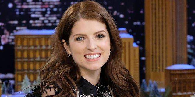 Anna Kendrick visits 'The Tonight Show Starring Jimmy Fallon' at Rockefeller Center on December 18, 2017, in New York City. (Photo by Mike Coppola/Getty Images)