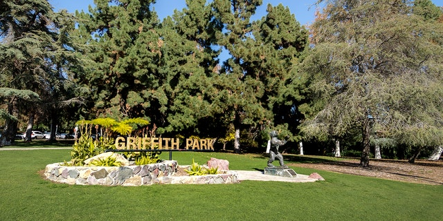 A dismembered body was found in Los Angeles' popular Griffith Park on Monday morning, police said.
