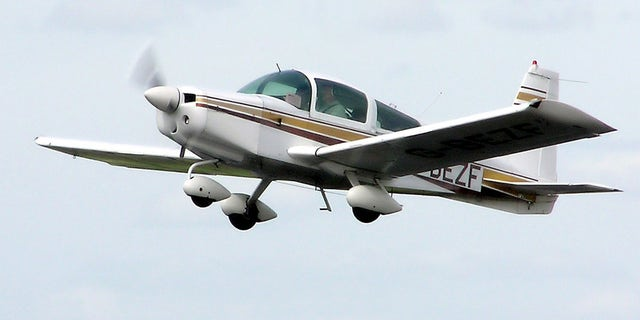 The National Transportation Safety Board said a Grumman American AA-5 crashed in the Maryland suburbs of the nation's capital Sunday, killing the pilot. (Adrian Pingstone)