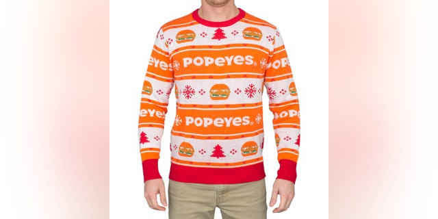 The sweater is available starting today, while supplies last.