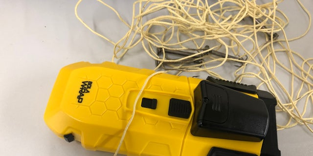 The BolaWrap is the only non-pain complaint tool that allows law enforcement a safer alternative when it comes to apprehending suspects, according to Wrap Technologies.