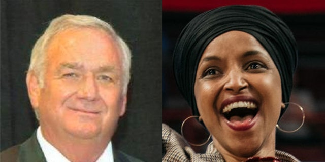 "Florida GOP congressional candidate George Buck is in trouble with GOP leadership after suggesting Democratic Rep. Ilhan Omar should ""hang."""