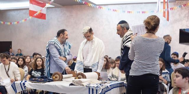 Ilia Buzunov's bar mitzvah in Ukraine
