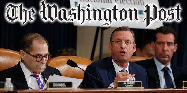 A Washington Post columnist gave advice for journalists covering impeachment hearings, including this week's hearing before the House Judiciary Committee, seen here. (AP Photo/Andrew Harnik, Montage)