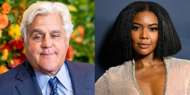 Gabrielle Union was reportedly not a fan of a racially insensitive joke made by Jay Leno on the 'America's Got Talent' set.