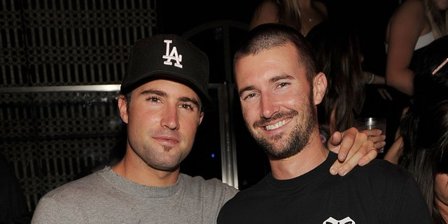 Brody and Brandon Jenner in 2010. (Photo by Denise Truscello/WireImage)