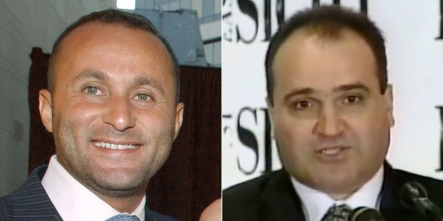"Ahmad ""Andy"" Khawaja and George Nader."