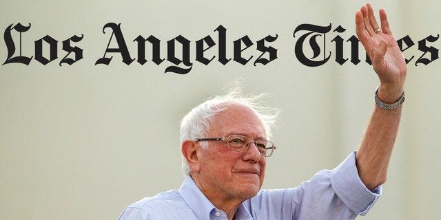 Westlake Legal Group LAtimesBernie LA Times acknowledges '#BernieBlackout,' publishes letters slamming paper for not covering California rally Joseph Wulfsohn fox-news/politics/2020-presidential-election fox-news/person/bernie-sanders fox-news/media fox news fnc/media fnc article 06d587bf-dec7-5c30-b174-3845415cafe2