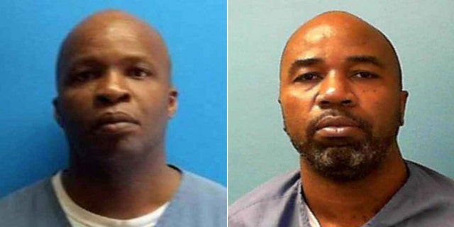 Mugshots for Lamar Alexander, 41, and Ronnie Hill, 41.