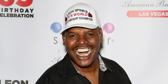 Leon Spinks in August 2018 in Las Vegas, Nevada. (Photo by Gabe Ginsberg/Getty Images)