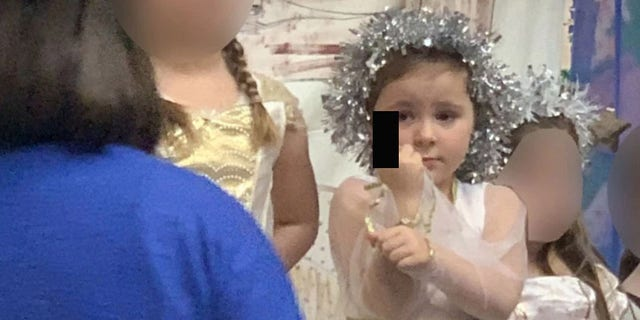 The 5-year-old girl was apparently just trying to let her mother know that she had a hangnail.