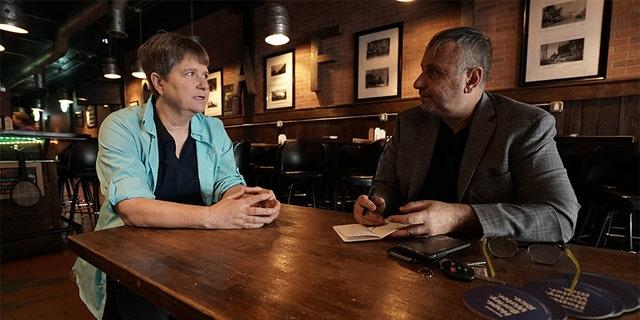 Frank Parlato interviewing Susan Dones.